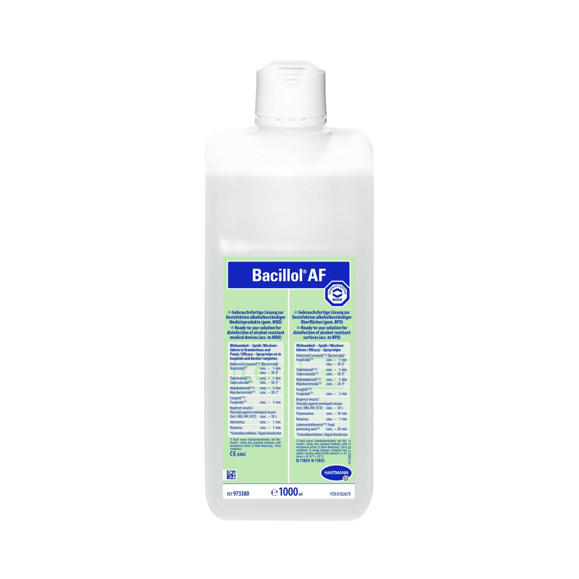 Desinfektionsmittel Bacillol AF 1000ml
