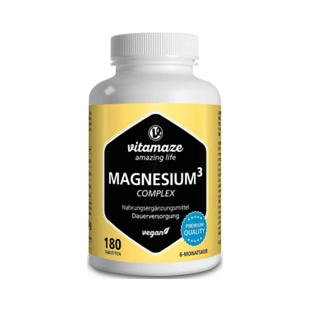 Magnesium³ Komplex 350 mg, 180 vegane Tabletten