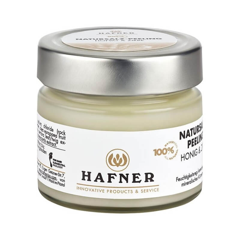 Hafner Natural Salt Peeling Honey Pine (150g)