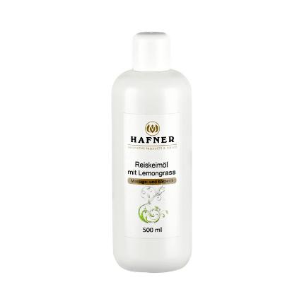 Hafner Rice Germ Oil with Lemongrass Massage Oil (500ml)